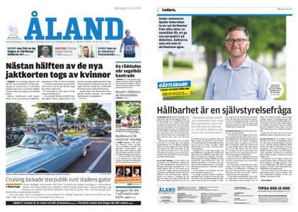 Ålandstidningen – 22 juli 2019