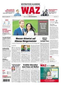 WAZ Westdeutsche Allgemeine Zeitung Oberhausen-Sterkrade - 28. November 2017