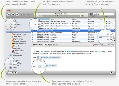 Peel v2.0 Mac OS X