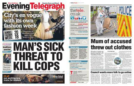 Evening Telegraph First Edition – January 25, 2018