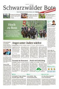Schwarzwälder Bote Blumberg - 01. Juni 2019