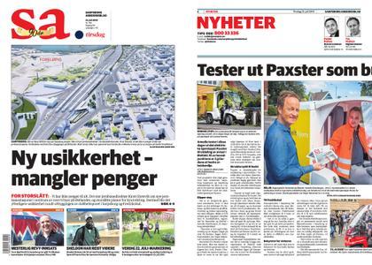 Sarpsborg Arbeiderblad – 23. juli 2019
