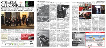 Gibraltar Chronicle – 16 November 2018