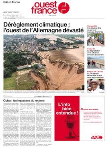 Ouest-France Édition France – 17 juillet 2021