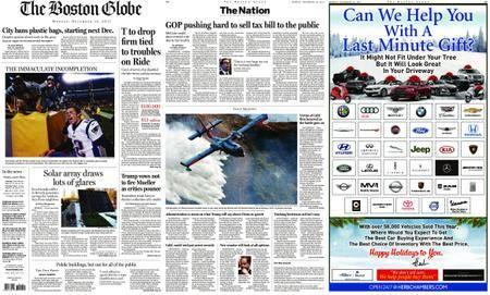 The Boston Globe – December 18, 2017