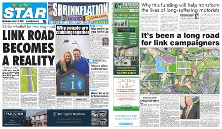 Shropshire Star Shrewsbury Edition – January 23, 2019