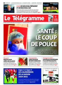 Le Télégramme Brest Abers Iroise – 10 juillet 2020