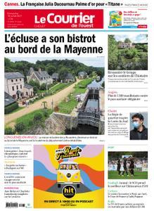 Le Courrier de l'Ouest Cholet – 18 juillet 2021