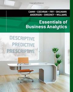 Essentials of Business Analytics (Repost)
