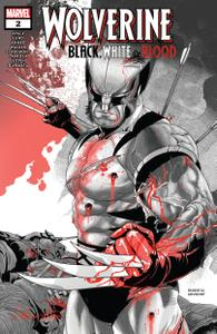 Wolverine-Black, White & Blood 002 2021 Digital Zone