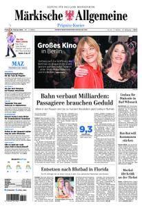 Märkische Allgemeine Prignitz Kurier - 16. Februar 2018