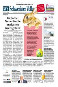 Schweriner Volkszeitung Hagenower Kreisblatt - 20. April 2019