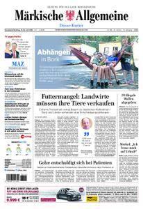 Märkische Allgemeine Dosse Kurier - 21. Juli 2018