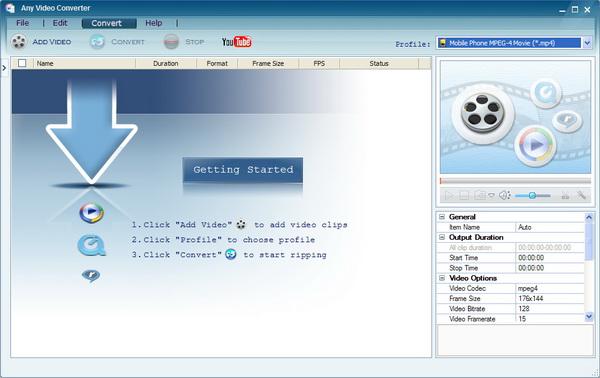 Any Video Converter Professional v3.2.5.Portable
