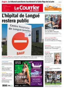 Le Courrier de l'Ouest Nord Anjou – 08 novembre 2019