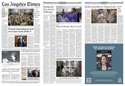 Los Angeles Times – January 23, 2021
