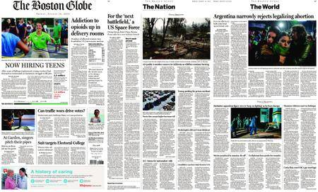 The Boston Globe – August 10, 2018