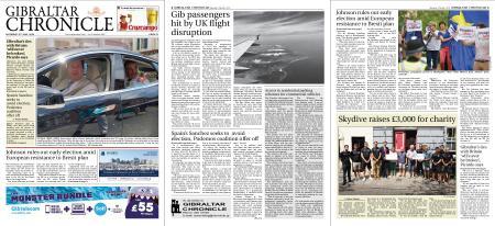Gibraltar Chronicle – 27 July 2019