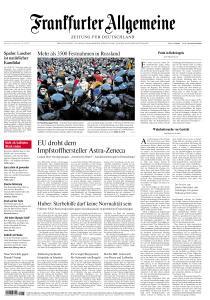 Frankfurter Allgemeine Zeitung - 25 Januar 2021