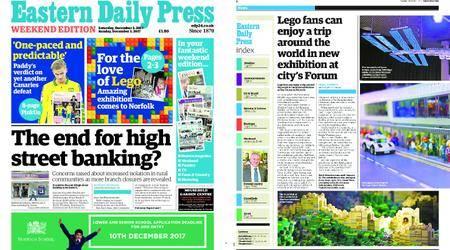 Eastern Daily Press – December 02, 2017