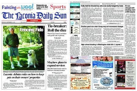 The Laconia Daily Sun – September 14, 2017