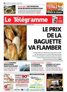 Le Télégramme Brest Abers Iroise – 26 octobre 2021