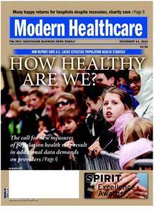 Modern Healthcare – December 13, 2010
