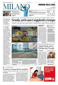 Corriere della Sera Milano – 16 settembre 2020
