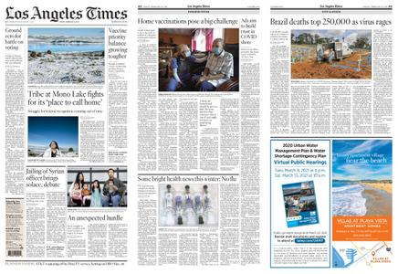 Los Angeles Times – February 26, 2021