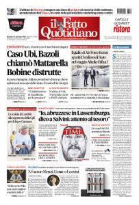Il Fatto Quotidiano - 16 settembre 2018