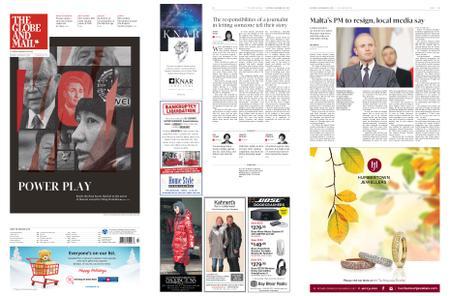 The Globe and Mail – November 30, 2019
