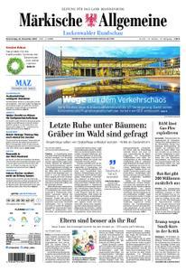 Märkische Allgemeine Luckenwalder Rundschau - 22. November 2018