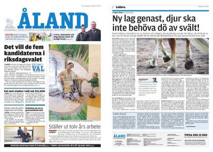 Ålandstidningen – 04 april 2019
