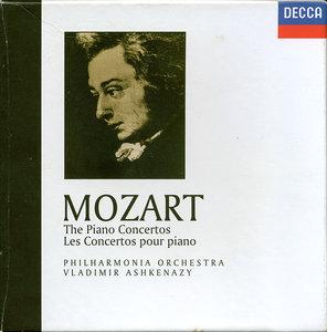Vladimir Ashkenazy, Philharmonia Orchestra - W.A. Mozart: The Piano Concertos (1995) 10 CD Box Set, Reissue 2006 [Re-Up]