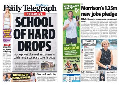 The Daily Telegraph (Sydney) – January 29, 2019