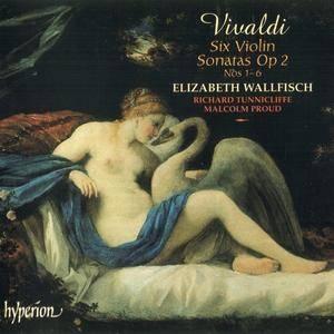 Elizabeth Wallfisch, Richard Tunnicliffe, Malcolm Proud - Vivaldi: Violin Sonatas, Op. 2 (2004)