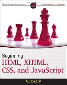 Beginning HTML, XHTML, CSS, and JavaScript (repost)
