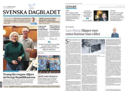 Svenska Dagbladet – 03 februari 2020