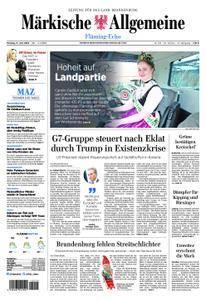 Märkische Allgemeine Fläming Echo - 11. Juni 2018