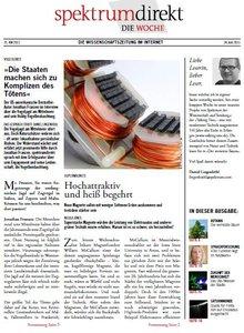 Spektrum Direkt Magazin No 25 vom 24 Juni 2011