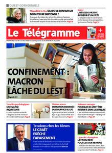 Le Télégramme Ouest Cornouaille – 25 novembre 2020