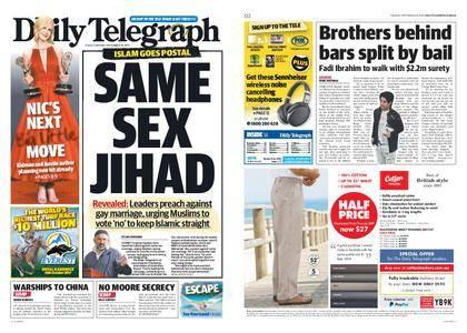 The Daily Telegraph (Sydney) – September 19, 2017