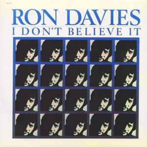 Ron Davies ‎– I Don't Believe It (1978) {2010 Big Pink}
