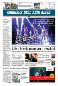 Corriere dell'Alto Adige – 12 ottobre 2018