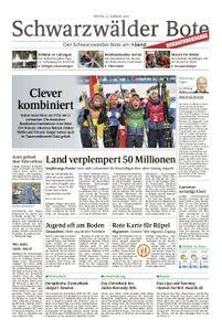 Schwarzwälder Bote Blumberg - 23. Februar 2018