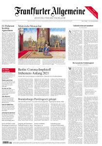 Frankfurter Allgemeine Zeitung - 24 Oktober 2020