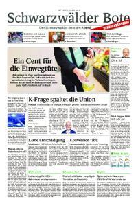 Schwarzwälder Bote Hechingen - 12. Juni 2019
