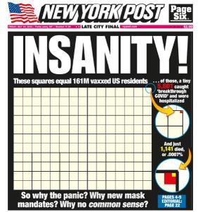 New York Post - July 30, 2021