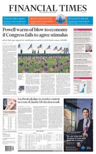 Financial Times Middle East - September 23, 2020