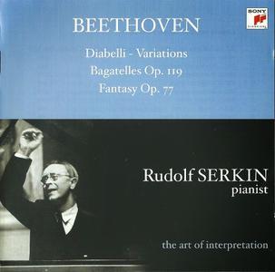 Rudolf Serkin - Beethoven: Diabelli Variations, Bagatelles, Fantasy (2003)
